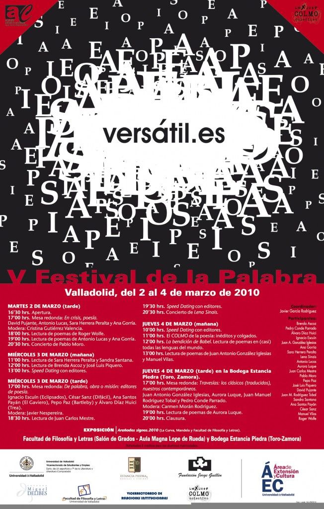 Cartel Versatil 2010